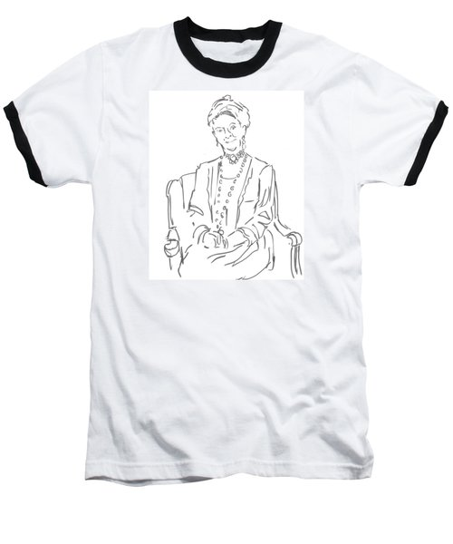 Downton Abbey - The Dowager Countess Baseball T-Shirt