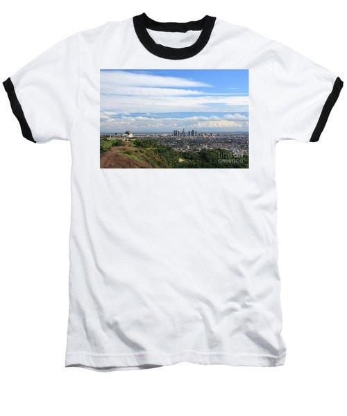 Downtown Los Angeles Baseball T-Shirt