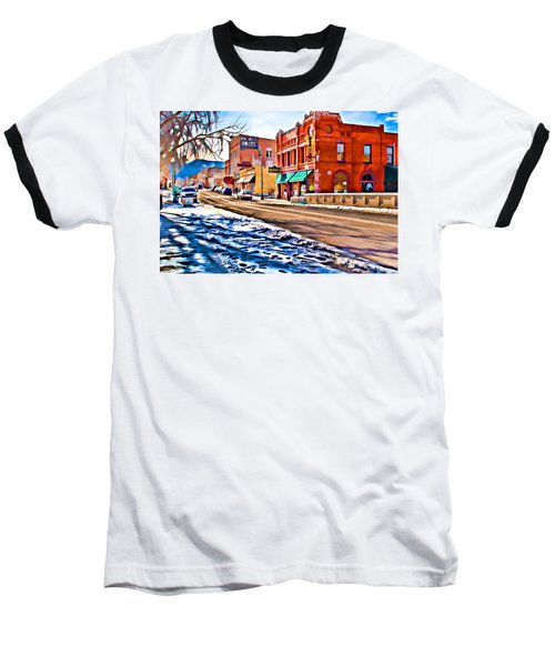Downtown Salida Hotels Baseball T-Shirt