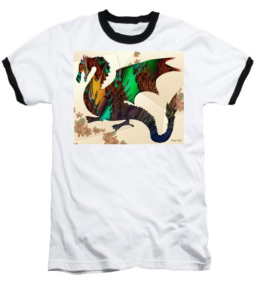 Drago Baseball T-Shirt by Kathy Kelly