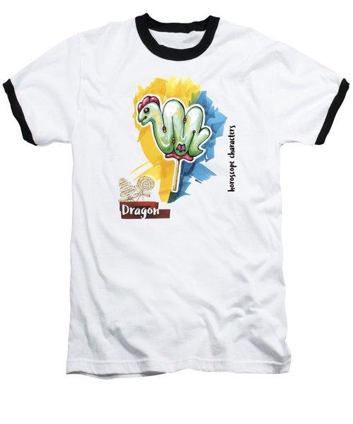 Dragon Horoscope Baseball T-Shirt