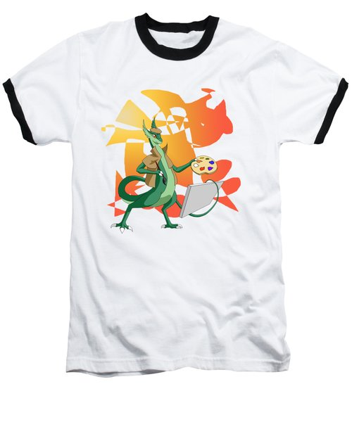 Dragon Painter Baseball T-Shirt