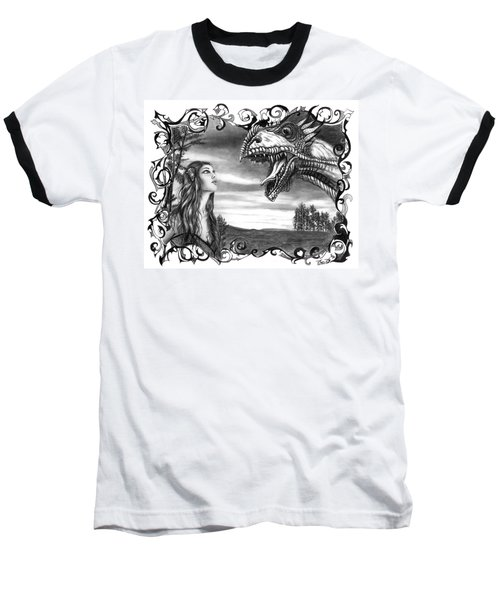 Dragon Whisperer  Baseball T-Shirt