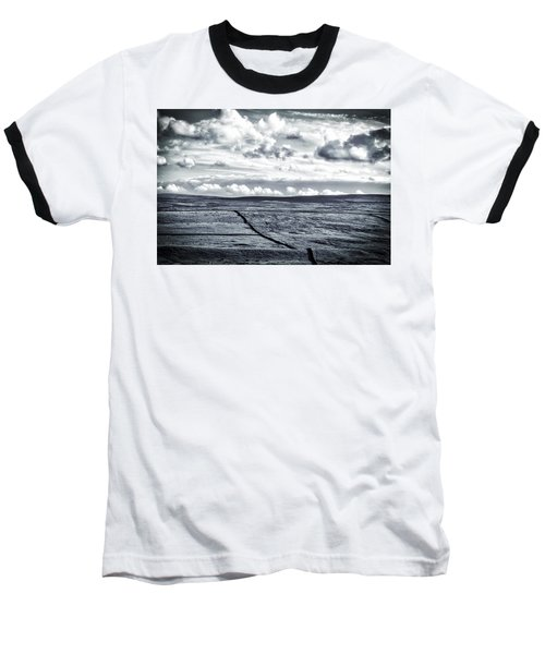 Dramatic Landscape  Baseball T-Shirt by RKAB Works