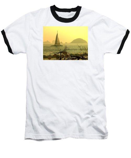 Dream Baseball T-Shirt by Anna  Duyunova