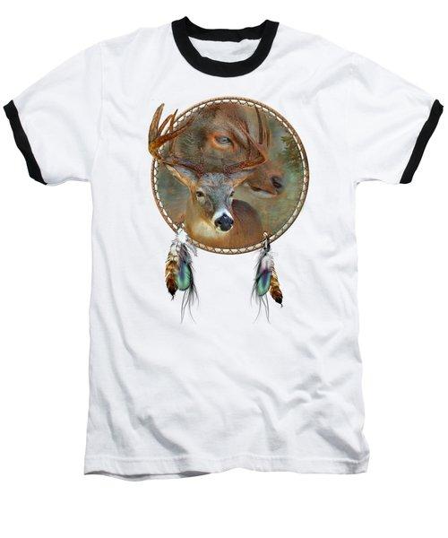 Dream Catcher - Spirit Of The Deer Baseball T-Shirt