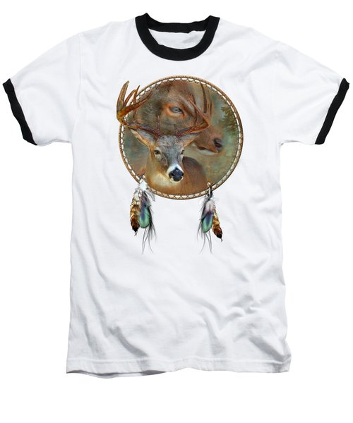 Dream Catcher - Spirit Of The Deer Baseball T-Shirt
