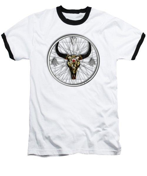 Dream Guardian Baseball T-Shirt by Iowan Stone-Flowers