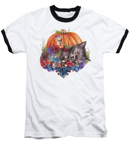 Dreaming Of Autumn Baseball T-Shirt