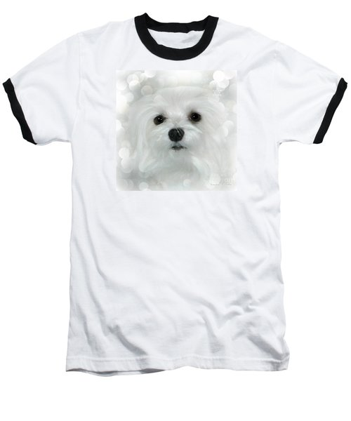Baseball T-Shirt featuring the photograph Dreams In White by Morag Bates