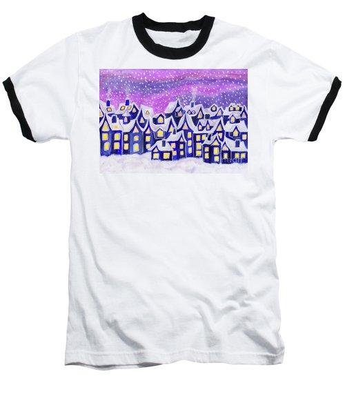 Dreamstown Blue, Painting Baseball T-Shirt