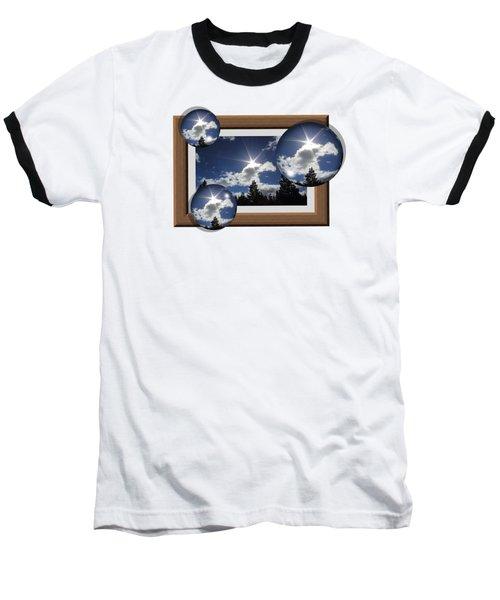 Baseball T-Shirt featuring the photograph Drifting Away by Shane Bechler