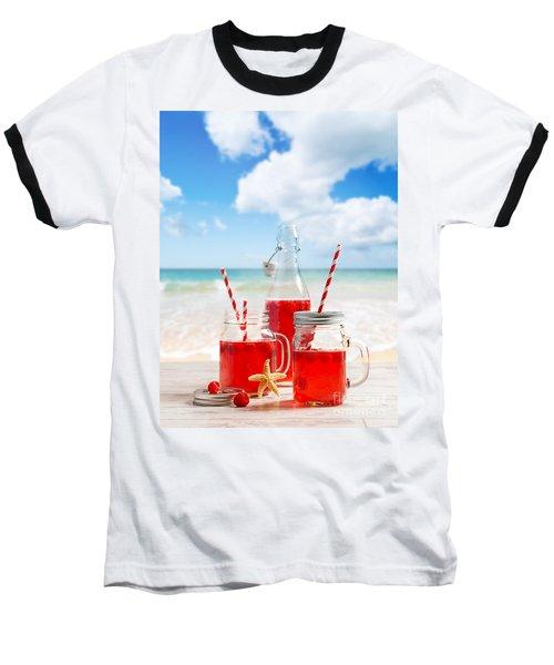 Drinks At The Beach Baseball T-Shirt