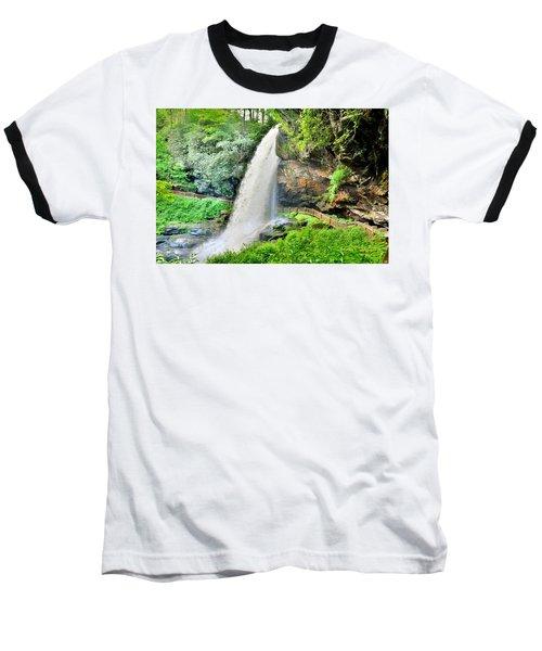 Dry Falls Highlands North Carolina 2 Baseball T-Shirt