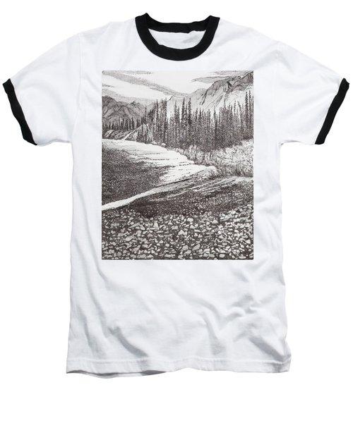 Dry Riverbed Baseball T-Shirt