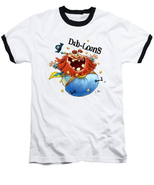 Dub-loons Baseball T-Shirt by Andy Catling