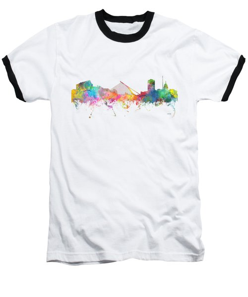 Dublin  Ireland. Skyline Baseball T-Shirt