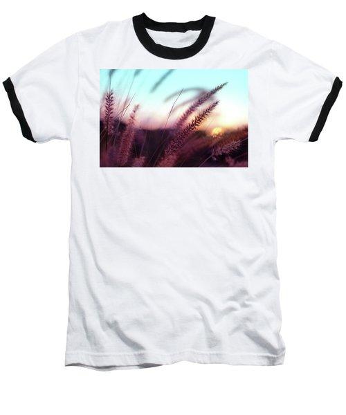 Dune Scape Baseball T-Shirt