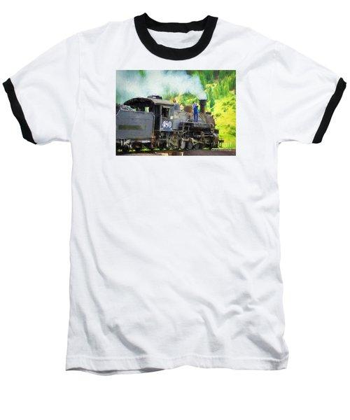 Durango And Silverton 480 Baseball T-Shirt