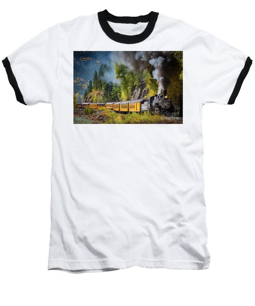 Durango-silverton Narrow Gauge Railroad Baseball T-Shirt