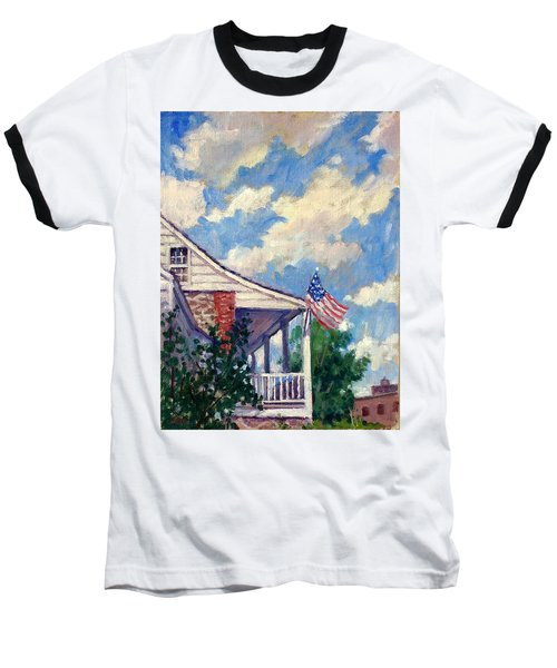 Dyckman House Nyc Baseball T-Shirt
