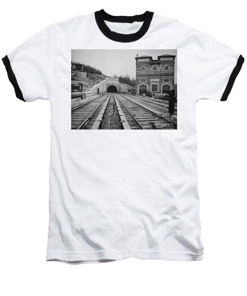 Dyckman Street Station Baseball T-Shirt