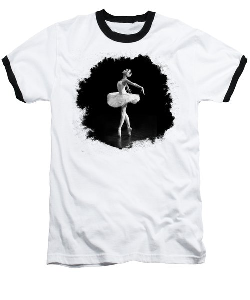 Dying Swan I T Shirt Customizable Baseball T-Shirt