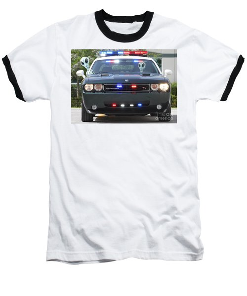 E T Cops Baseball T-Shirt