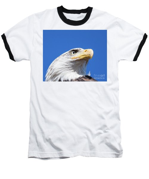 Baseball T-Shirt featuring the photograph Eagle by Jim  Hatch