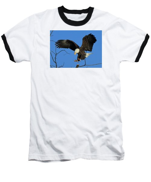 Eagle Landing Baseball T-Shirt
