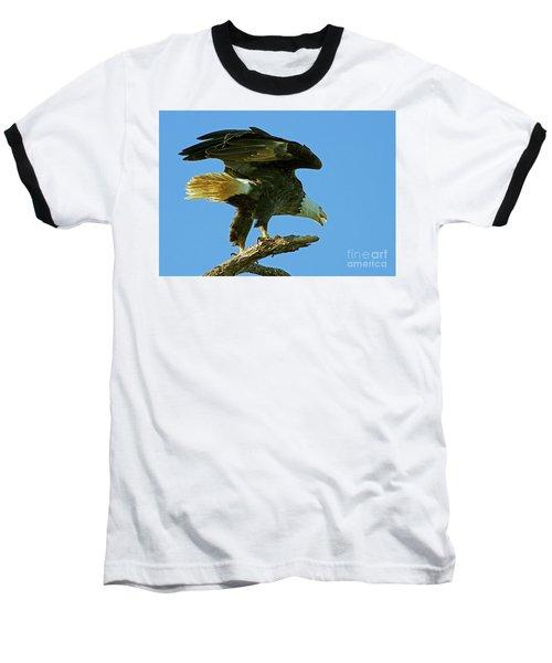 Eagle Mom, The Scolding Baseball T-Shirt