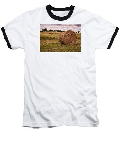 Early Autumn Baseball T-Shirt by Wayne King