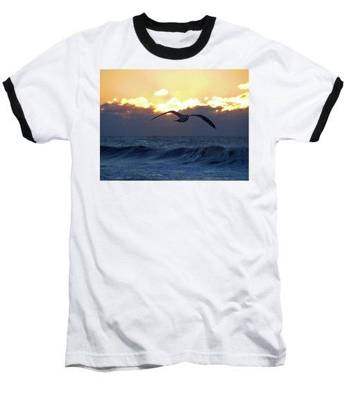 Early Bird Baseball T-Shirt by Newwwman