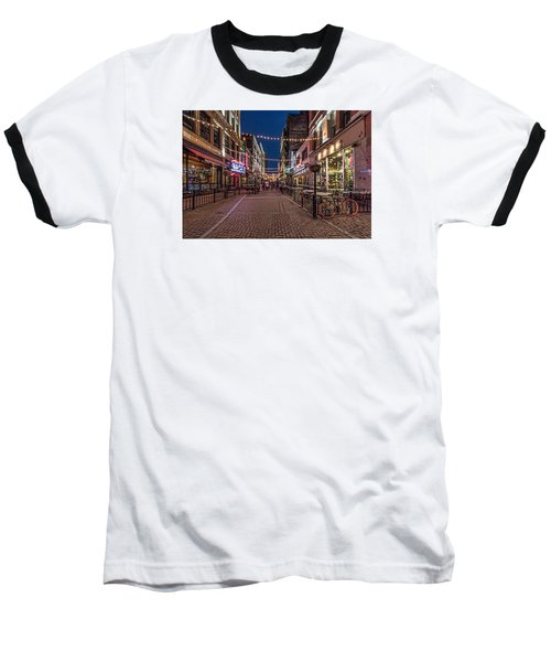Early Evening On E. 4th Baseball T-Shirt