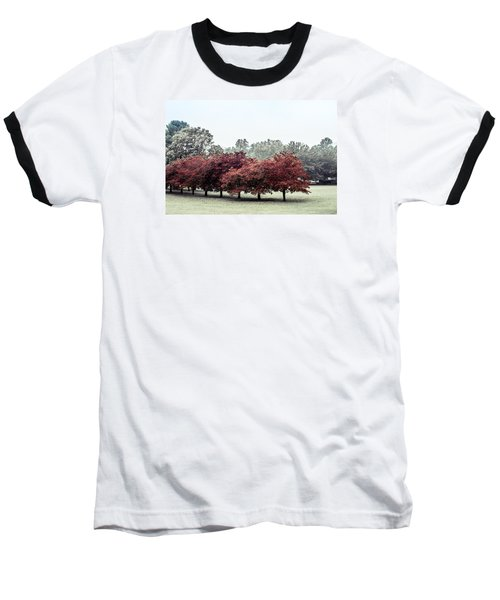 Baseball T-Shirt featuring the photograph Early Fall by Carlee Ojeda