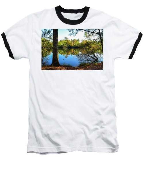 Early Fall Reflections Baseball T-Shirt