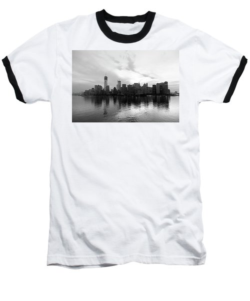 Early Morning In Manhattan Baseball T-Shirt