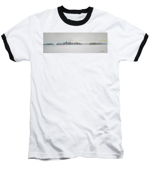 Early Skyline Baseball T-Shirt