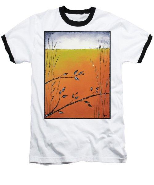 Early Spring  Baseball T-Shirt by Carolyn Doe