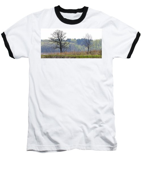 Early Spring Silhouettes  Baseball T-Shirt