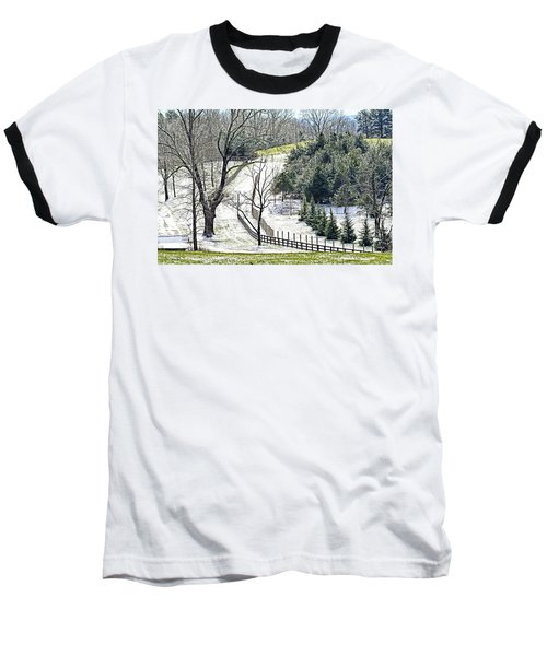 Early Winter Pasture Baseball T-Shirt