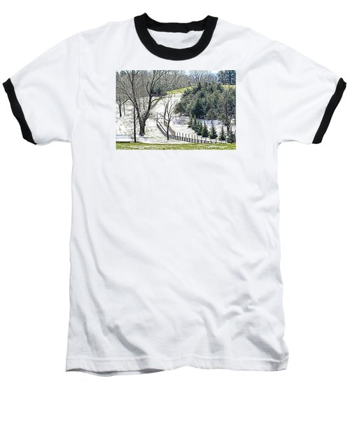 Early Winter Pasture Baseball T-Shirt