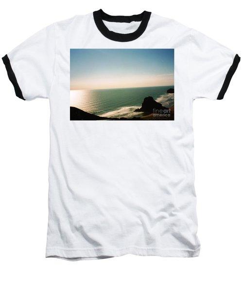 East Coastline In New Zealand Baseball T-Shirt