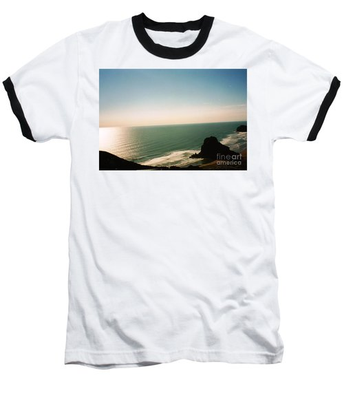 East Coastline In New Zealand Baseball T-Shirt