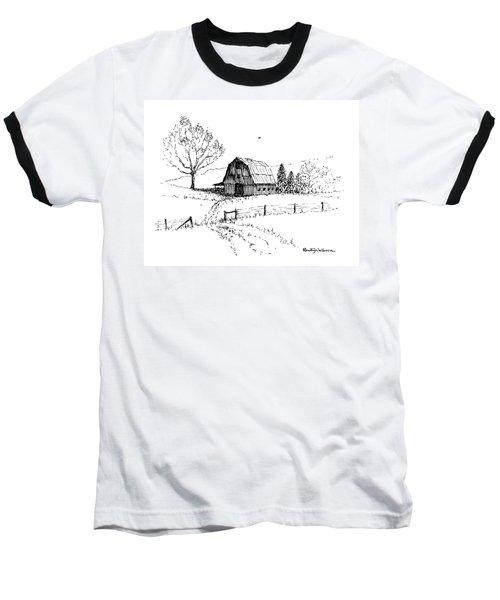 East Texas Hay Barn Baseball T-Shirt