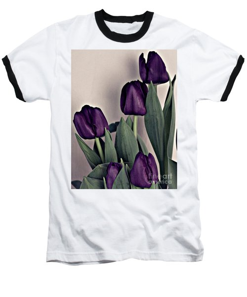 A Display Of Tulips Baseball T-Shirt