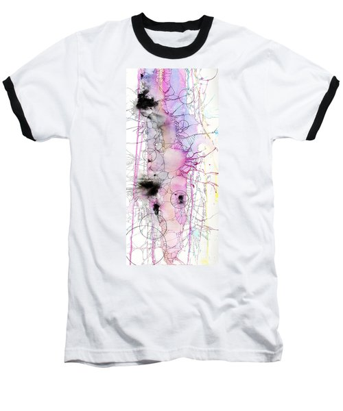 Baseball T-Shirt featuring the painting Easter Egg Fry Up by Rebecca Davis