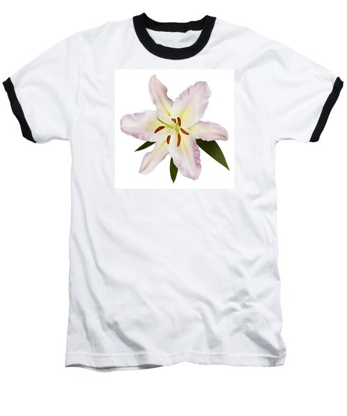 Easter Lilly 1 Baseball T-Shirt by Tony Cordoza