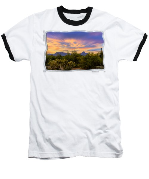 Easter Sunset H18 Baseball T-Shirt by Mark Myhaver