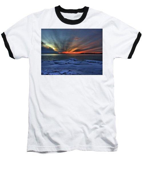 Eastern Lights  Baseball T-Shirt